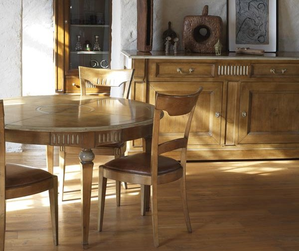 Artcopi Vendome Dining Table, Chairs & 2 Drawer Sideboard