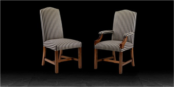 Artistic Brompton Dining Chairs - Side Chair & Dining Armchair / Carver
