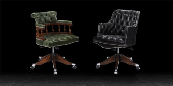 Artistic Upholstery Captains Chair & Douglas Chair