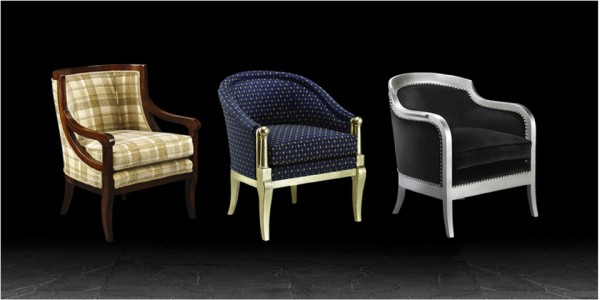 Artistic Upholstery Lucia, Sophia & Palatino chairs