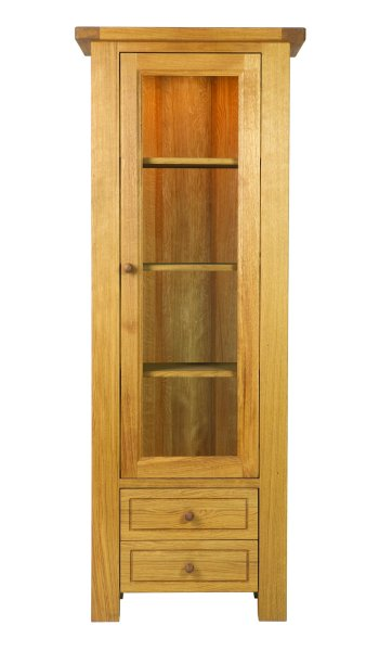 Charltons Bretagne Display Cabinet with Light