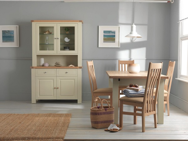 Charltons Bretagne Furniture - Modern Natural Lacquered and Painted Oak Dining & Living Room Furniture