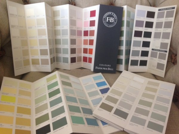 Farrow and Ball Paint Finish now available on Charltons Furniture