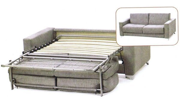 Concept Remus Action Memory Foam Sofa Bed