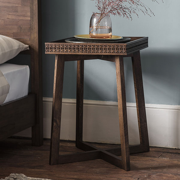 Gallery Direct Boho Retreat Contemporary Bedside Table