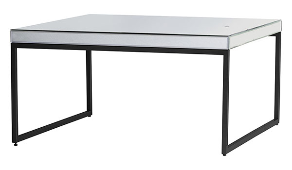 Gallery Direct Pippard Black Contemporary Coffee Table