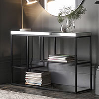 Gallery Direct Pippard Black Living Room Furniture