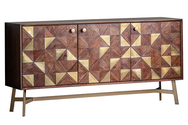 Gallery Direct Tate Contemporary 3 Door Sideboard