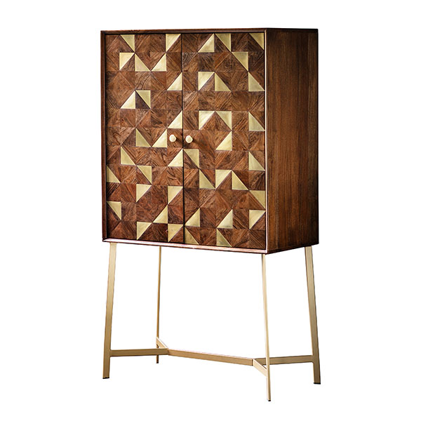 Gallery Direct Tate Contemporary Bar Cabinet