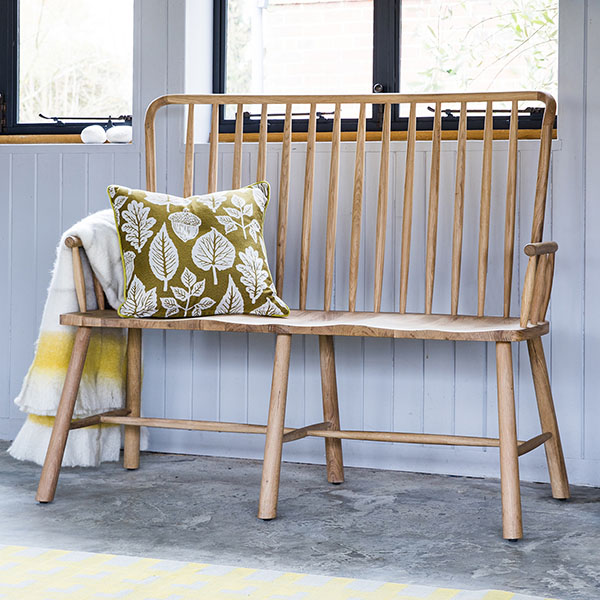 Gallery Direct Tulip Wycombe Oak Hall Bench