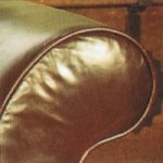 Beaulieu Sofa arm in Old Saddle Brown leather