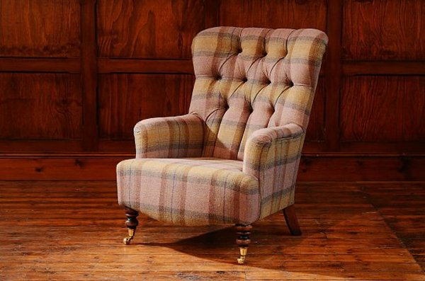Contrast Upholstery Belgravia Chair by Tetrad