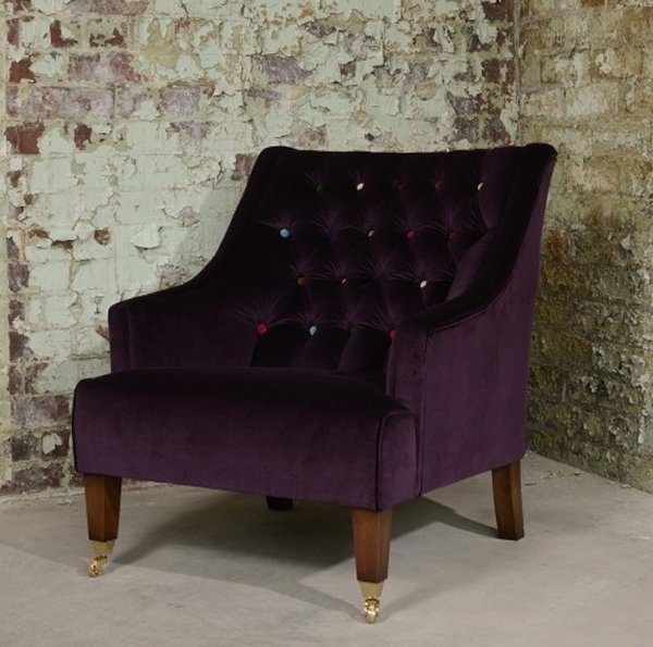 The Contrast Upholstery Cavendish Chair by Tetrad
