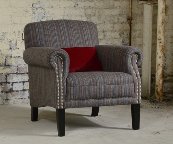 The Contrast Upholstery Fulford Chair by Tetrad