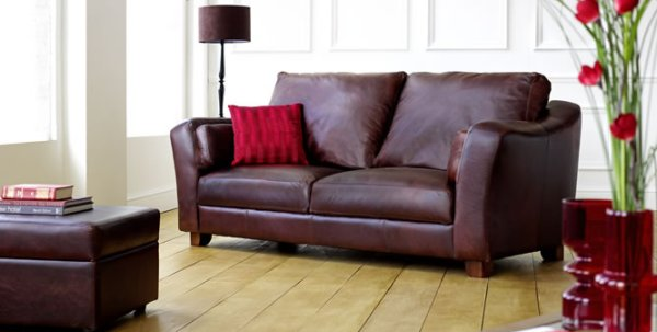 The Sofa Collection Piccadilly Premium Leather Sofa by Forest Sofa