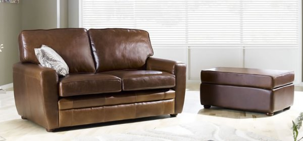 The Sofa Collection Statton Premium Leather Sofa by Forest Sofa