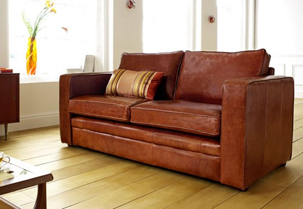 The Sofa Collection Tiffany Premium Leather Sofa by Forest Sofa
