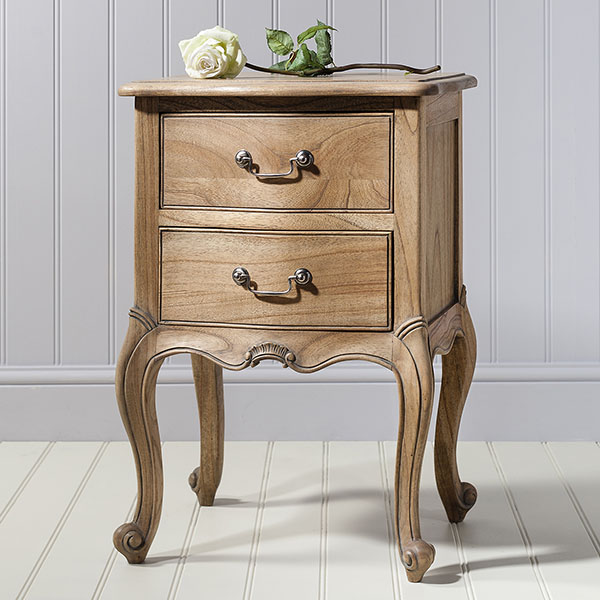 Gallery Direct Chic Weathered Bedside Table