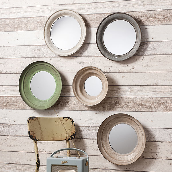 Gallery Direct Set of 5 Crosby Wall Mirrors