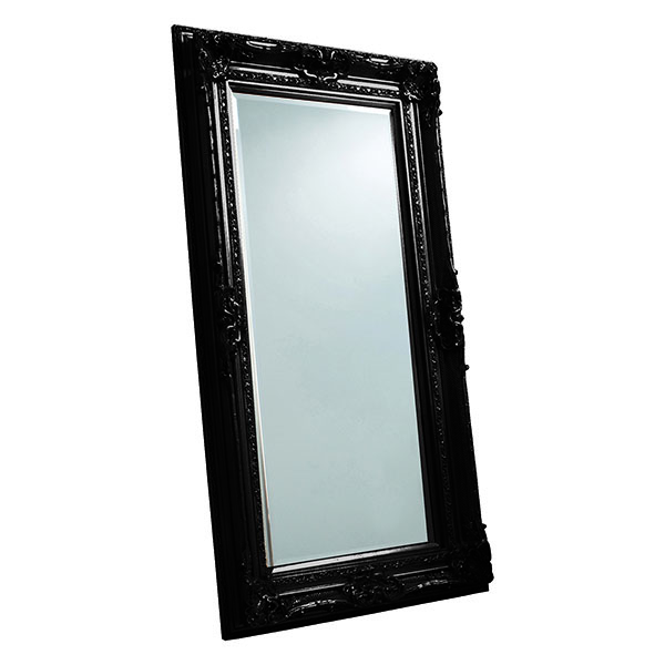 Gallery Direct Valois Black Wall Mirror
