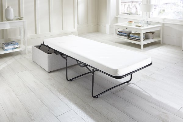 ay-Be Footstool Bed with Airflow Fibre Mattress