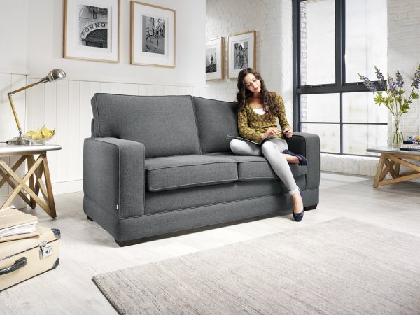Jay-Be Modern Sofa Bed with Pocket Sprung Mattress
