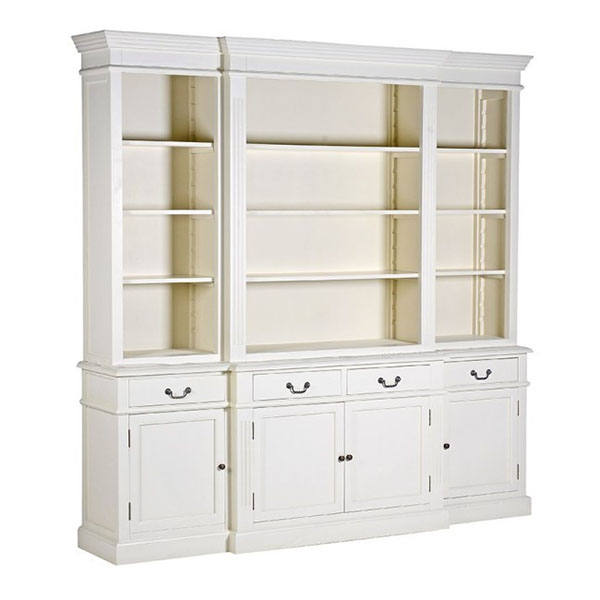 Stanton Large Breakfront Library Bookcase