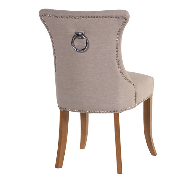 Cotswold Ivory Studded Dining Chair