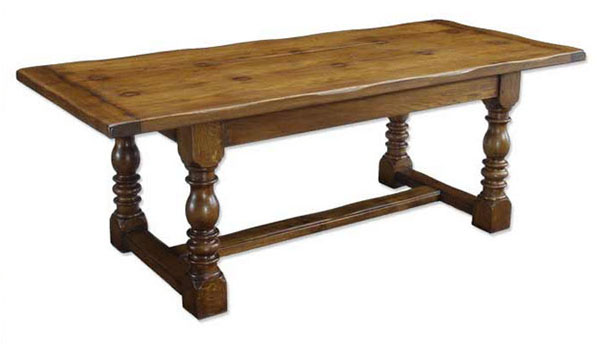 Norfolk Cabinet Makers Standard Oak Refectory Dining Table