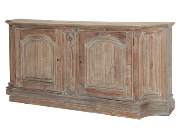 Large Rustic Pine Washed Base Unit