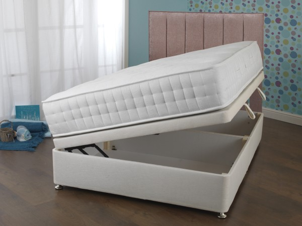 Sweet Dreams Eden Civic 1000 Side Opening Ottoman Bed Set