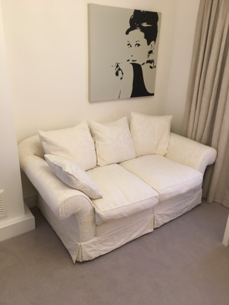 Tetrad Alicia Sofa in a customer's home