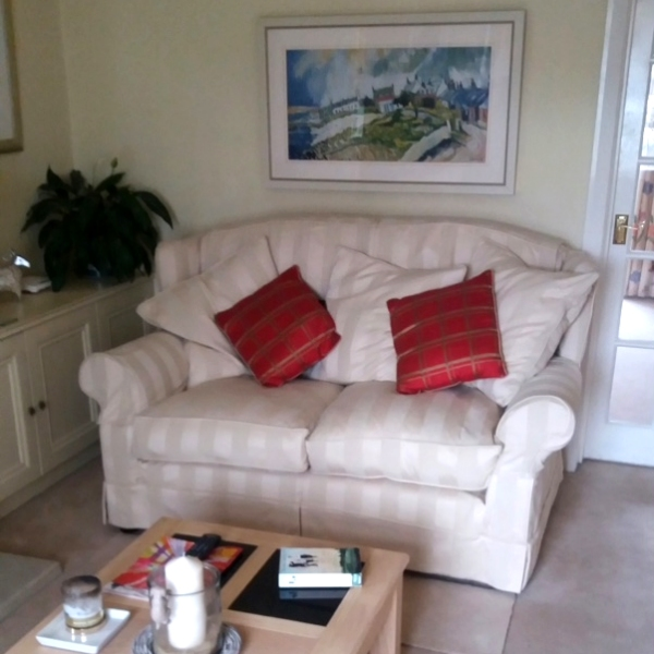 Tetrad Adelphi Midi Sofa in a customer's home