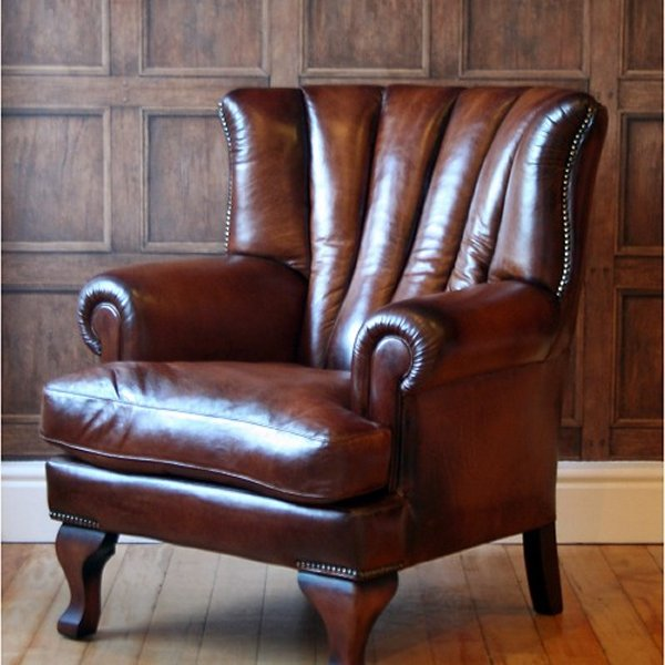Tetrad Blake Leather Chair