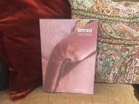 Tetrad Jefferson Sofa & new 2016 / 17 Tetrad Catalogue on display in our furniture showrooms