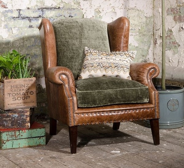 Tetrad Constable Wing Armchair