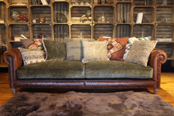 Tetrad Constable Grand Sofa on display at the January Furniture Show 2108, NEC