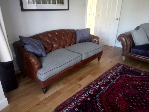 Tetrad Dalmore sofa in a happy customer's home