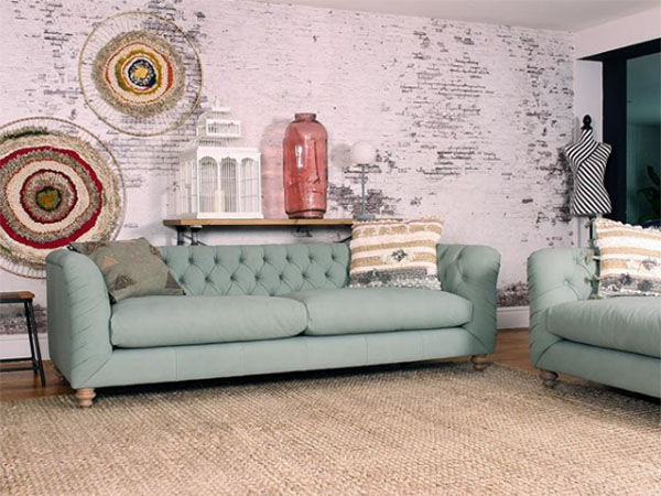Tetrad FF Truffle Sofas shown here in leather