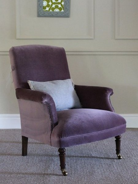Tetrad Keswick Velvet Chair - A Tetrad Classic Velvets Collection Chair