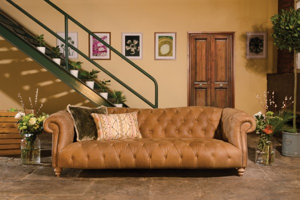 Tetrad Matisse Leather Sofa