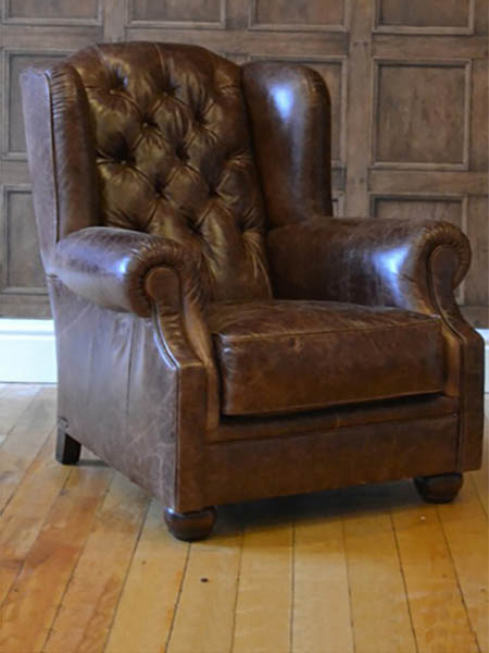 Tetrad Norton Leather Chair