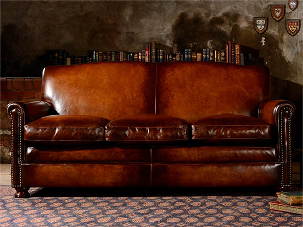 Tetrad Prince Large Leather Sofa