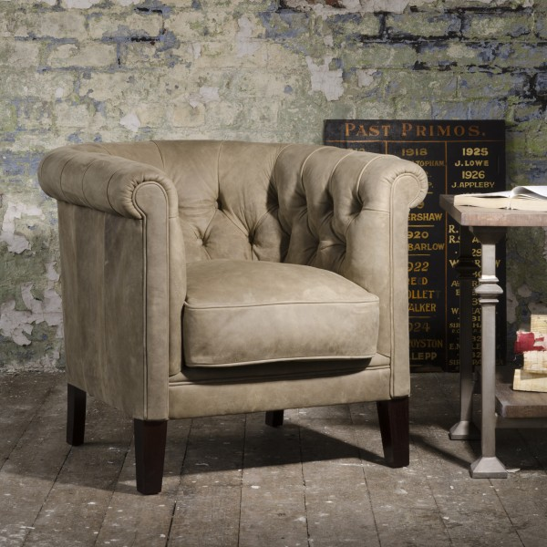 Tetrad Turner Leather Tub Chair