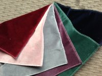 Tetrad Velvet Swatches