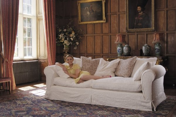Tetrad Vivaldi Sofa in Jacobean Flower Natural