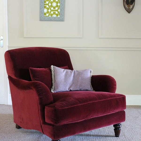 Tetrad Windermere Chair - A Tetrad Classic Velvets chair