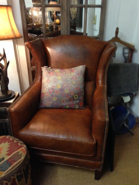 Havana Vintage Brown Leather Armchair