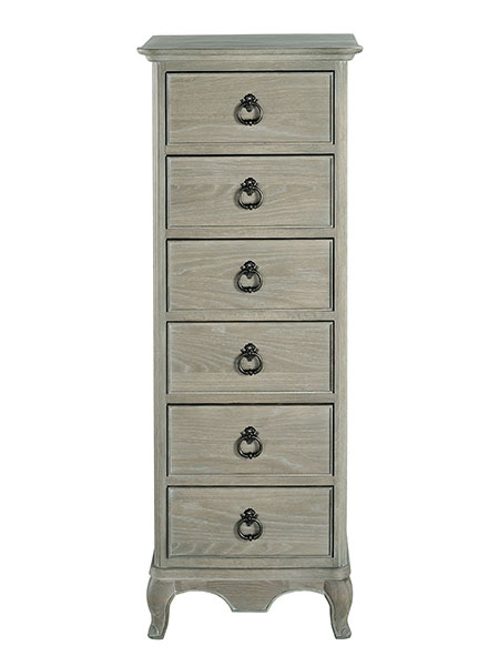 Willis & Gambier Camille 6 Drawer Chest - Tallboy