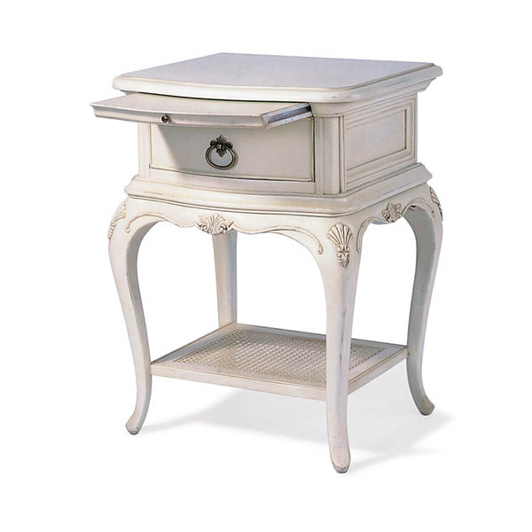 Willis & Gambier Ivory 1 Drawer Bedside Chest